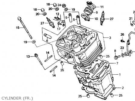 Honda Nt650 Hawk Gt 1990 (l) Usa California parts list