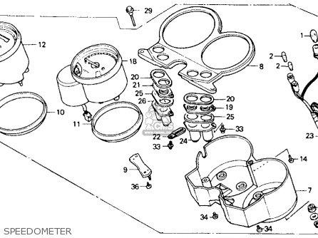 Honda NT650 HAWK GT 1990 (L) USA CALIFORNIA parts lists