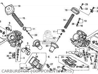 Honda Nt650v Deauville 1998 France parts list partsmanual