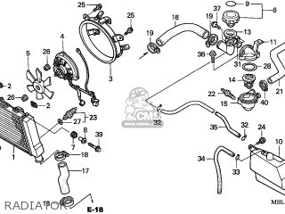 Honda Nt650v Deauville 1998 (w) France parts list