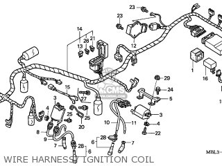 Honda Nt650v Deauville 1999 (x) France parts list