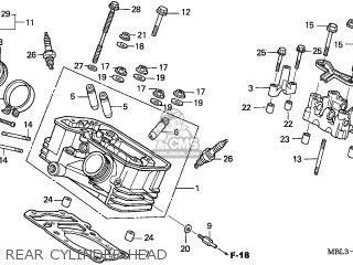 Honda NT650V DEAUVILLE 2004 (4) AUSTRALIA parts lists and