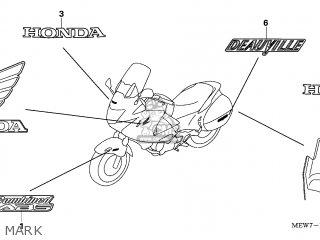 Honda NT700V 2006 (6) EUROPEAN DIRECT SALES parts lists
