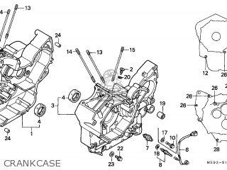 Honda Ntv650 Revere 1988 European Direct Sales parts list