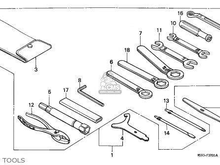 Honda Ntv650 Revere 1988 (j) Germany parts list