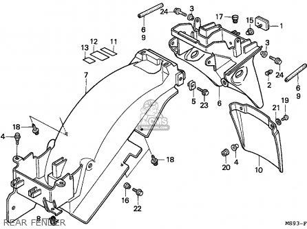 Honda NTV650 REVERE 1989 (K) GERMANY parts lists and