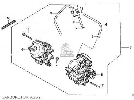 Honda Ntv650 Revere 1990 (l) Australia parts list