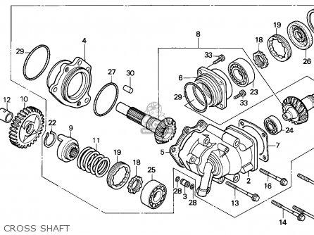 Honda NTV650 REVERE 1991 (M) EUROPEAN DIRECT SALES parts