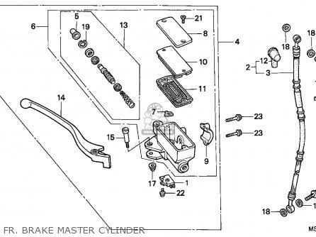 Honda NTV650 REVERE 1991 (M) FRANCE / YB parts lists and