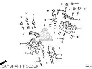 Honda NTV650 REVERE 1995 (S) ENGLAND / MKH parts lists and