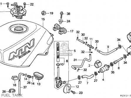 Honda NTV650 REVERE 1997 (V) EUROPEAN DIRECT SALES / MKH