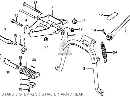 Honda Nu50 Urban Express 1982 (c) Usa parts list
