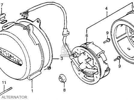 Honda Mr50 Wiring Diagram Wiring Diagram Honda CT70 Wiring