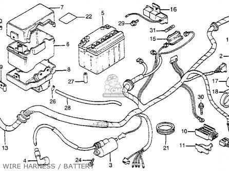 1983 Honda Urban Express Wiring Diagram