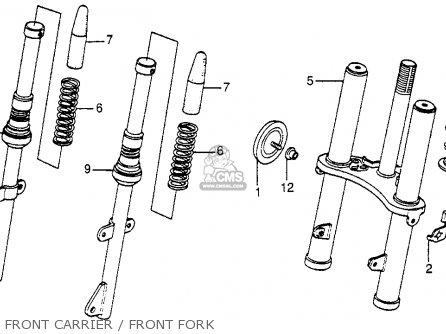 Honda NU50M URBAN EXPRESS DELUXE 1983 (D) USA parts lists