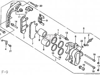 Honda NV400C STEED 1989 (K) JAPAN NC26-105 parts lists and