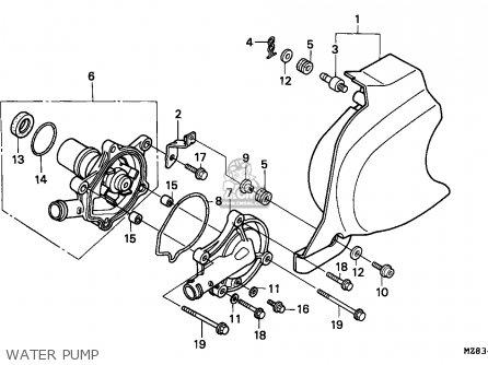 Honda NV400C STEED 1995 (S) SINGAPORE / KPH parts lists