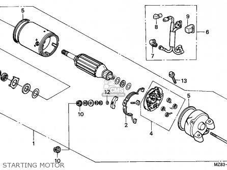 Honda Nv400c Steed 1995 Singapore / Kph parts list