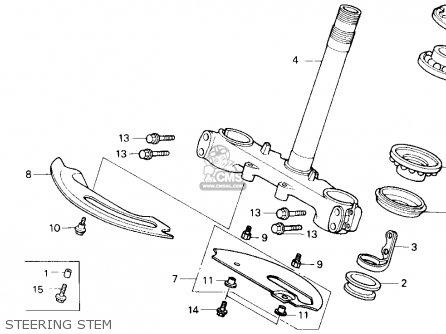 Honda NX125 DOMINATOR 1990 (L) USA CALIFORNIA parts lists