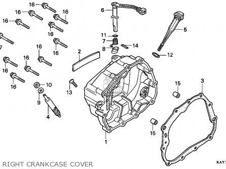 Honda NX125 TRANSCITY 1989 (K) ITALY parts lists and