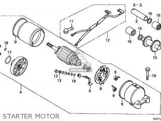 Honda NX125 TRANSCITY 1997 (V) ITALY parts lists and