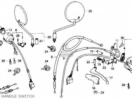 Honda Nx250 1988 j Usa Handle Switch