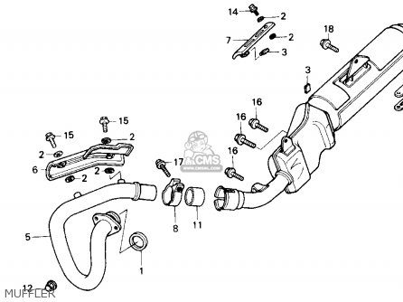 Honda Nx250 1990 (l) Usa California parts list partsmanual