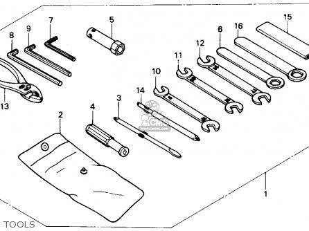 Honda NX250 1990 (L) USA CALIFORNIA parts lists and schematics