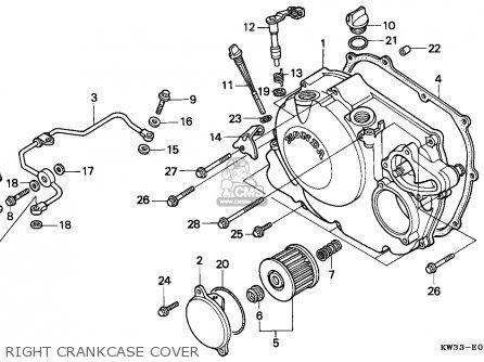 Honda Nx250 Dominator 1988 (j) Spain parts list