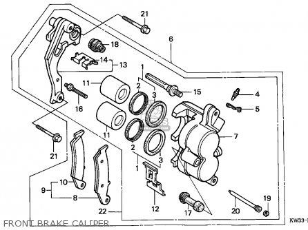 Honda Nx2502 Dominator 1990 (l) European Direct Sales Mm