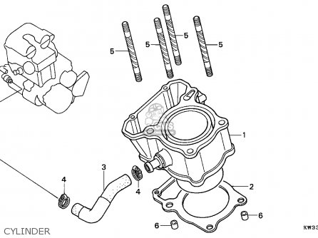 Honda NX2502 DOMINATOR 1993 (P) SPAIN MM parts lists and