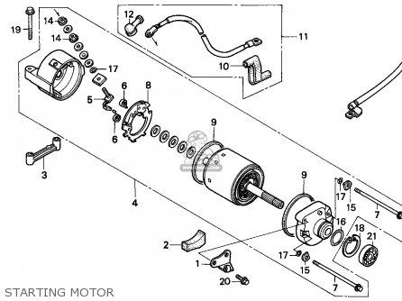 Honda NX500 DOMINATOR 1997 (V) AUSTRIA parts lists and