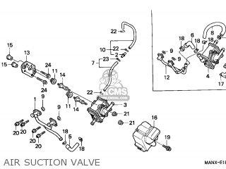 Honda NX500 DOMINATOR 1999 (X) AUSTRIA parts lists and