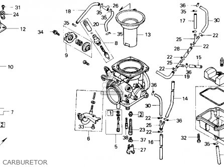 Honda Nx650 1988 Usa parts list partsmanual partsfiche