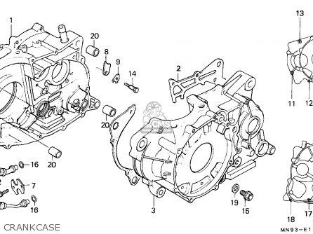 Honda NX650 DOMINATOR 1988 (J) GERMANY parts lists and