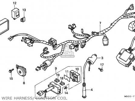 Honda NX650 DOMINATOR 1988 (J) ITALY parts lists and