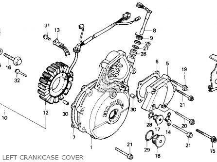 Honda Nx650 Dominator 1988 (j) Usa parts list partsmanual