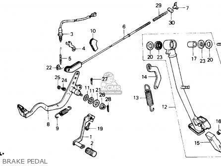 Honda Nx650 Dominator 1989 (k) Usa parts list partsmanual