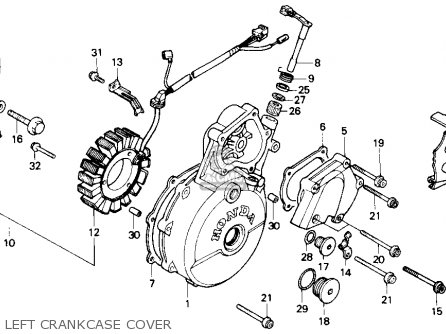 Honda NX650 DOMINATOR 1989 (K) USA parts lists and schematics