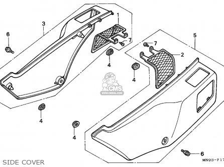 Honda NX650 DOMINATOR 1991 (M) GERMANY parts lists and