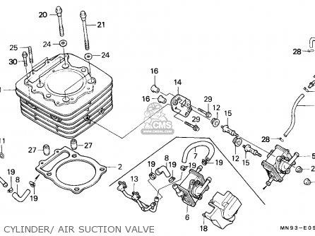 Honda NX650 DOMINATOR 1991 (M) GERMANY / 27P parts lists