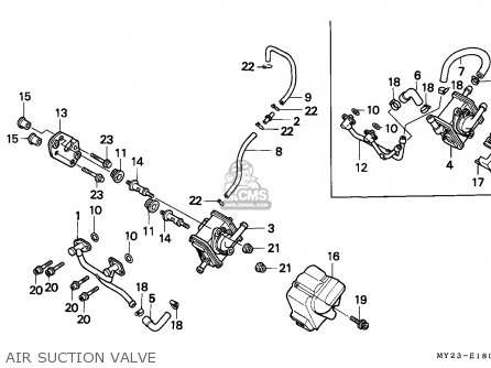 Honda Nx650 Dominator 1992 Germany / Mkh parts list