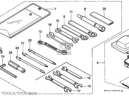 Honda Nx650 Dominator 1992 (n) Germany / Mkh parts list