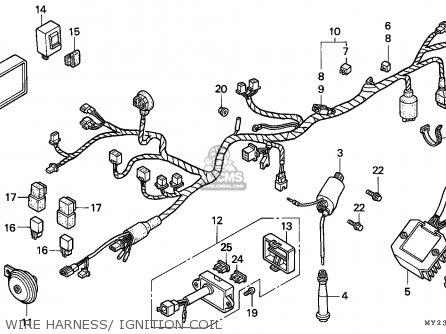 Honda NX650 DOMINATOR 1994 (R) FRANCE / MKH parts lists