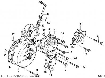 Honda NX650 DOMINATOR 1995 (S) AUSTRALIA parts lists and