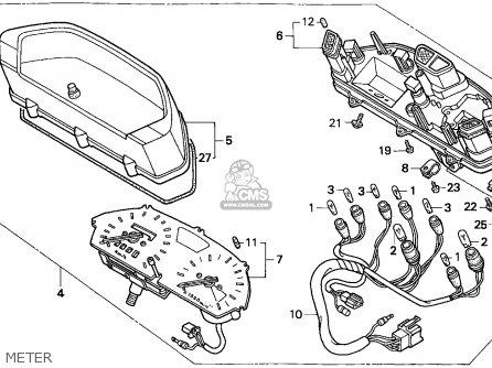 Honda NX650 DOMINATOR 1995 (S) NORTHERN EUROPE parts lists