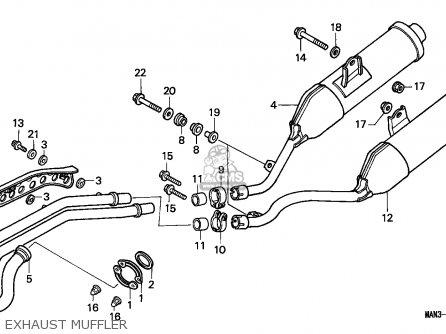 Honda NX650 DOMINATOR 1997 (V) AUSTRALIA parts lists and