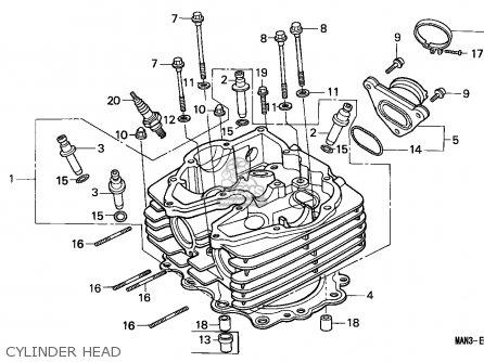 Honda Nx650 Dominator 1997 (v) European Direct Sales parts
