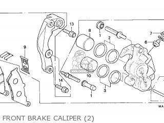 Honda NX650 DOMINATOR 1997 (V) ITALY parts lists and