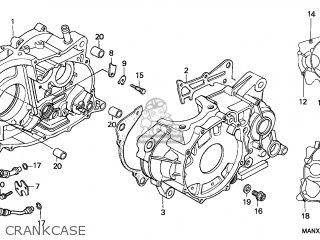 Honda Nx650 Dominator 1999 (x) France parts list